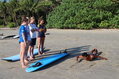 Surf Camp Costa Rica - Surf lessons