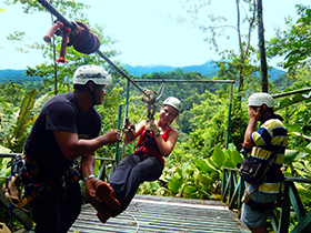 Surf Camp Costa Rica - Adventures - Canopy and Zip Line Tour
