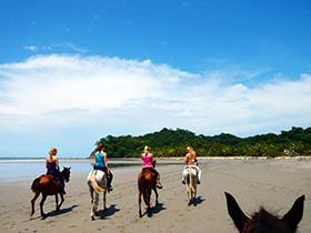 Surf Camp Costa Rica - Adventures - Horseback Riding